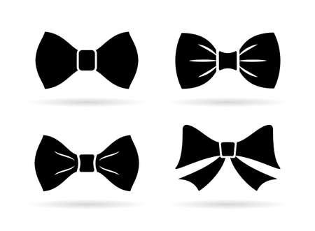Bow tie vector icon on white background 일러스트