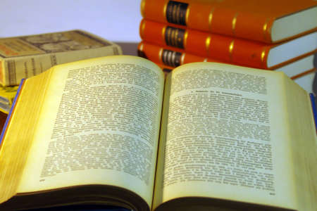 volumes: old books