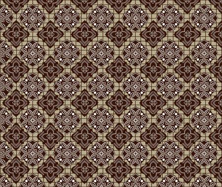 indonesian batik Stock Vector - 10296708