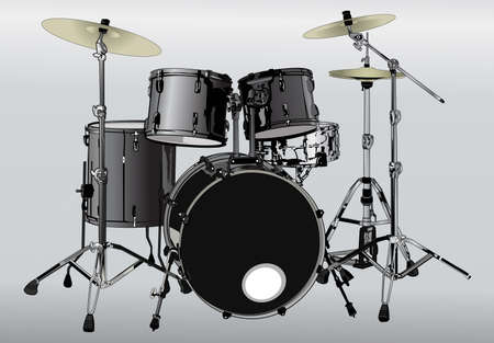 snare drum: regulator of all musical instruments Illustration