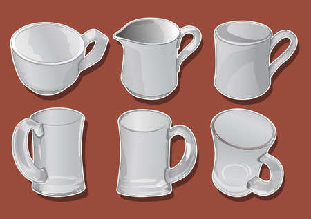 cupglass Stock Vector - 21509744