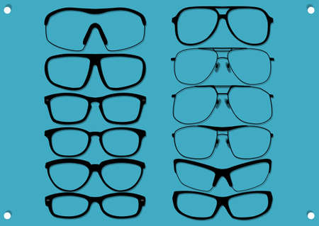 type of glasses   Vector
