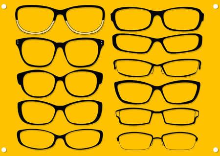 type of glasses Stock Vector - 21509759