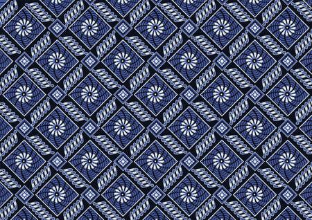 traits: background batik 8 Illustration
