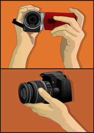 camera video and photo Stock Vector - 21510903