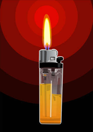 the lighter Stock Vector - 21510910