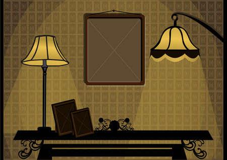 bakelite: a corner room of the house