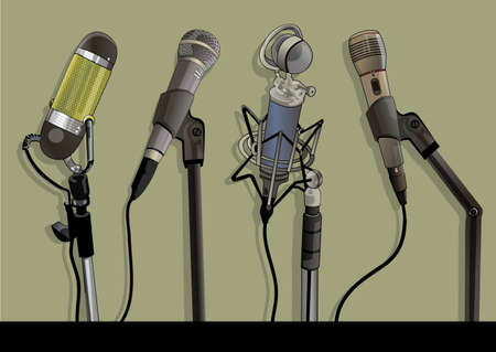 a variety of microphone