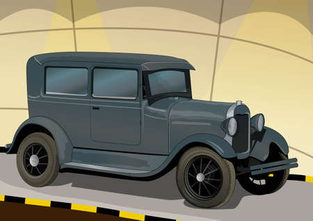 restored: ancient car