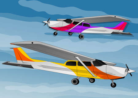 small airplane Stock Vector - 21511774