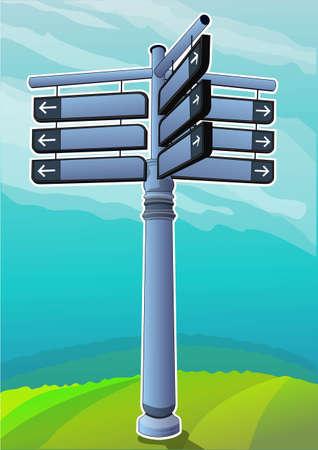 road directions Stock Vector - 21511781