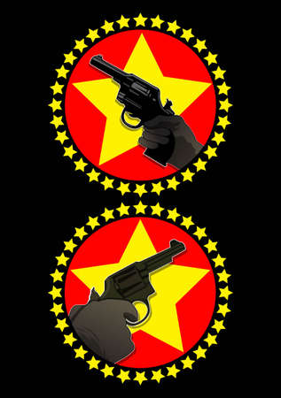 gunpoint simbol Vector