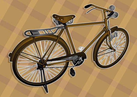 classic bicycle Stock Vector - 21511794