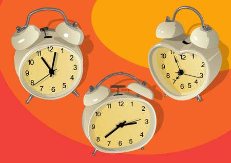 various alarm cloc Stock Vector - 21511840