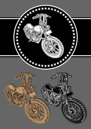 My favorite bike Vector