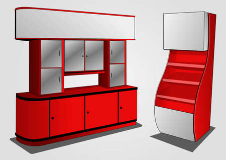 furniture store:  a place to store items to be sold 3 Illustration