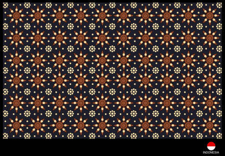 batik pattern: background batik 38 Illustration