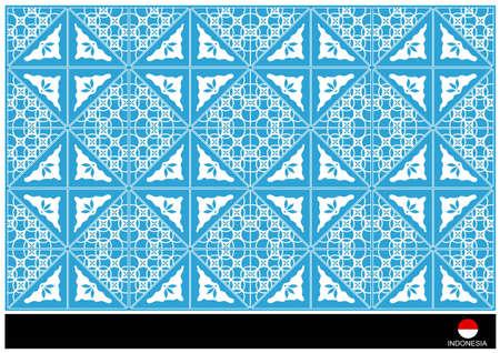 sumatra: background batik 24 Illustration