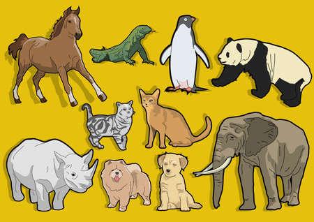 animal lovers Stock Vector - 22243708