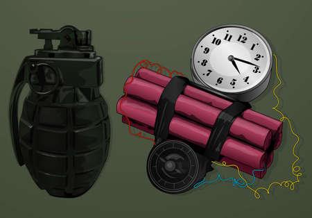 big explosion Vector