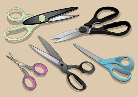 art and craft equipment: tools to cut something