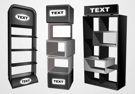 display cabinet 1 向量圖像