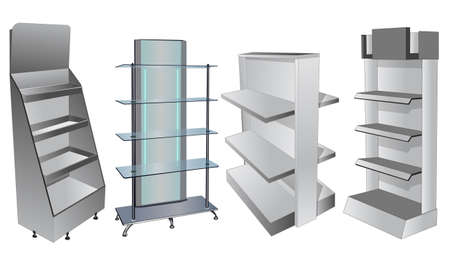 display stand:  display cabinets 2