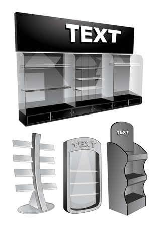 book display  Stock Vector - 22243730