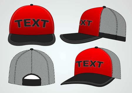 hat with visor: cap design