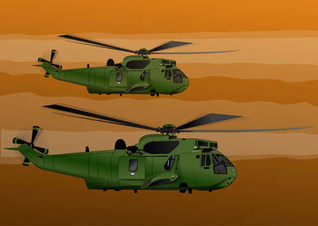 chinook:  army helicopters