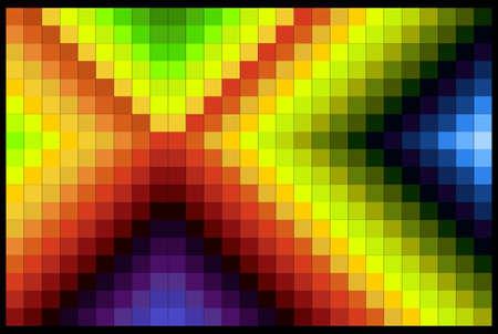 co lour:  color gradation Illustration