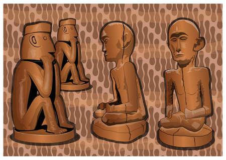 sacred objects Illustration