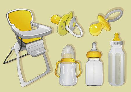 teteros: para los bebés