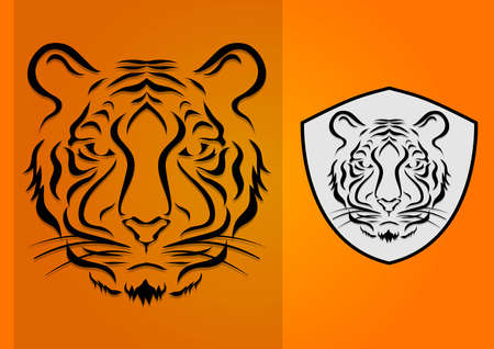 lion silhouette 2 Vector