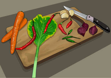 greener: spices cooking