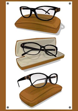 eyeglasses frame Illustration