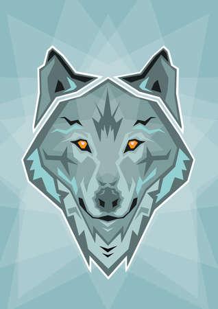 wolf head mascot 1