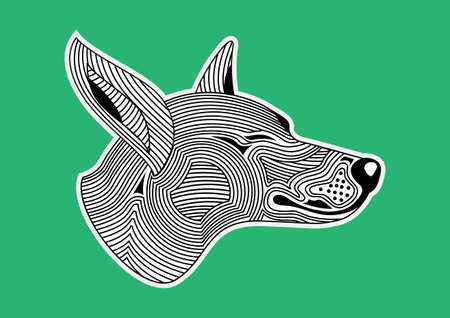 cut away: doghead