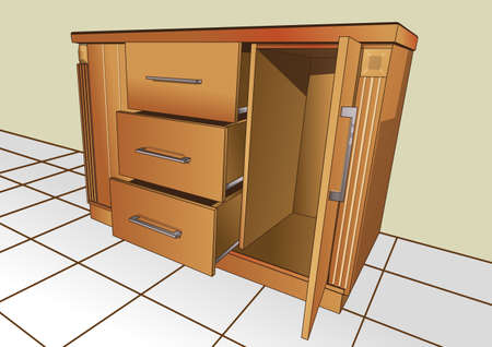 the small cupboard