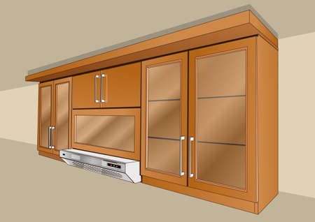 kitchen cabinets: cabinets in the kitchen