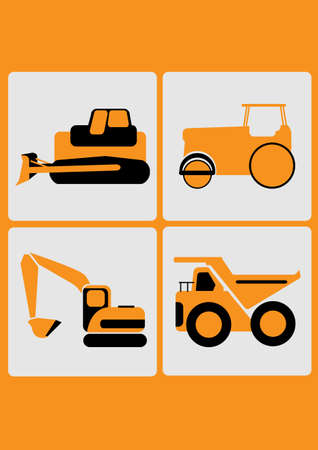 steamroller: the heavy equipment icon