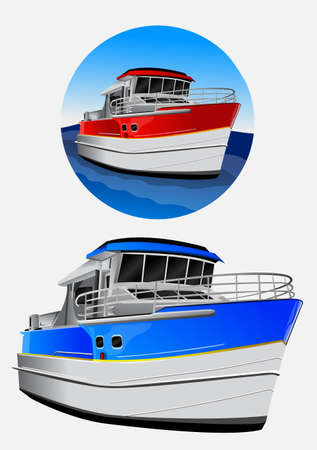 super yacht: motorboat