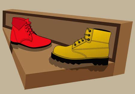 quite: boots are quite nice Illustration