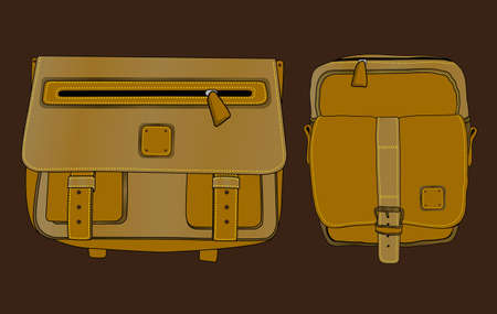sling bag that attracts attention Illustration