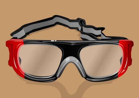 goggles Illustration
