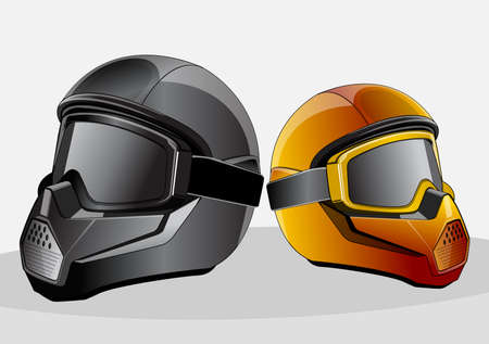 amazing costum helmet