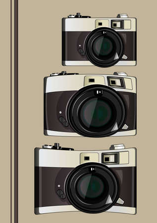 various forms of camera Illustration