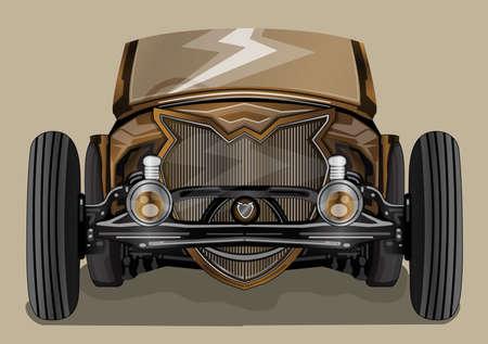 restored: custom cars old school