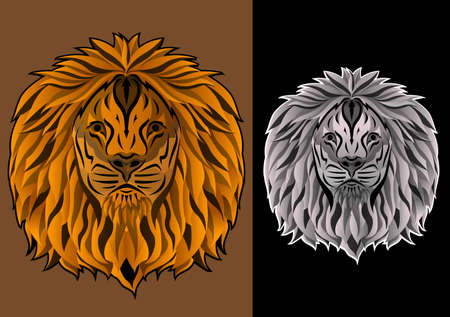the king of lion head