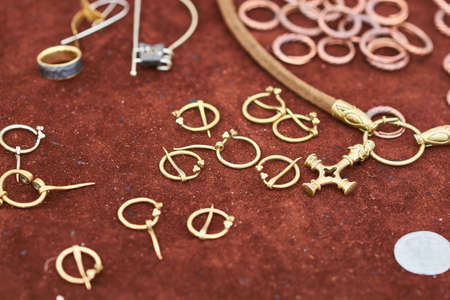 Medieval copper jewelry handmade for any purpose